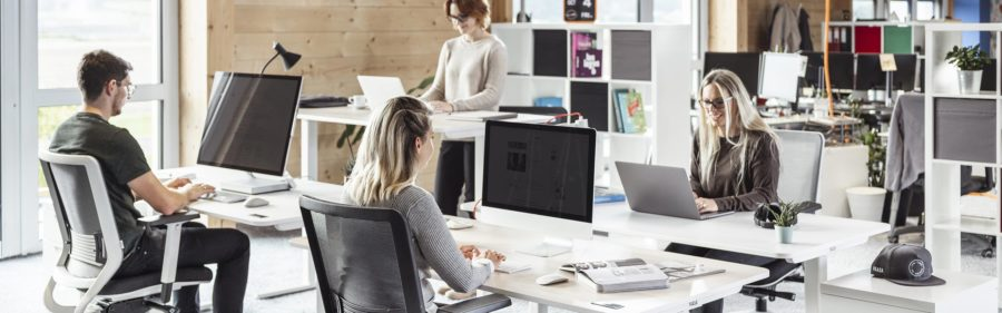 Take care of ergonomic and adjustable furniture in your office to improve health and productivity.