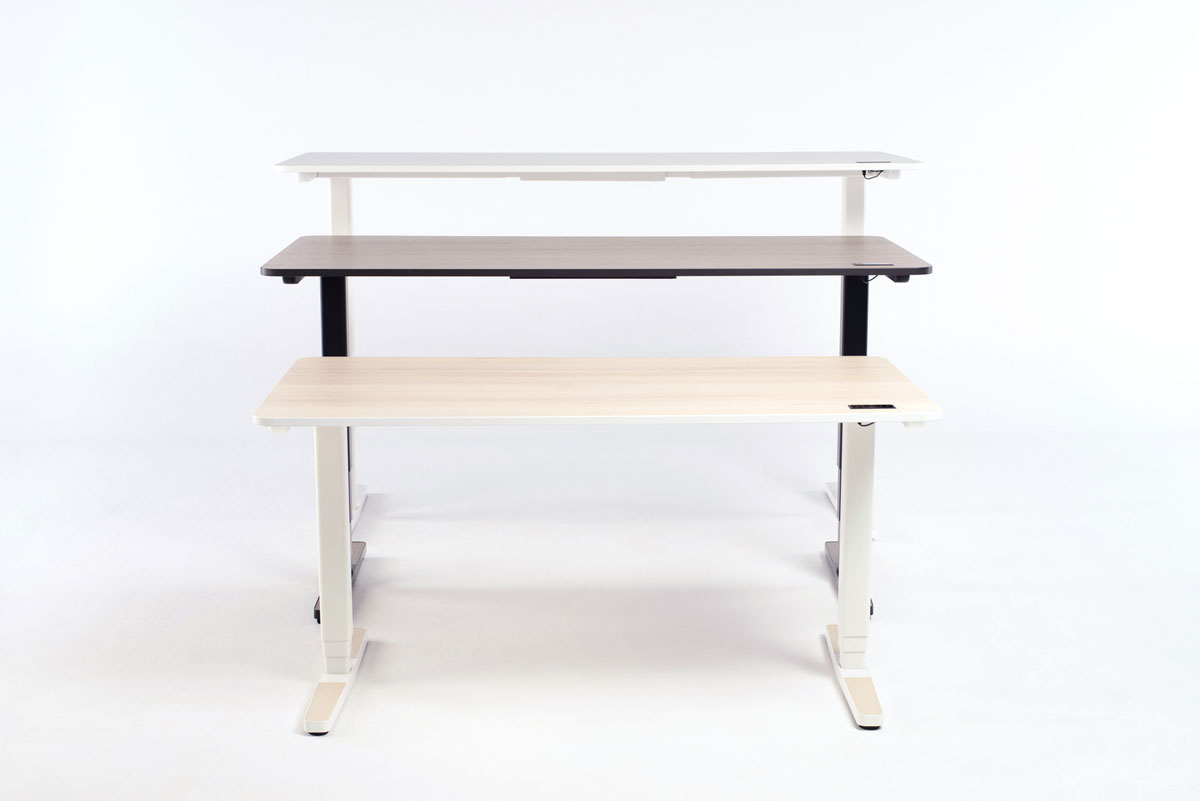 The Yaasa Desk Pro II is available in three different sizes so that it fits your individual space requirements.